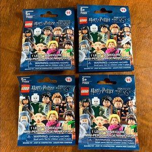 Lego mini-figures bags - 71022 - 4 bags